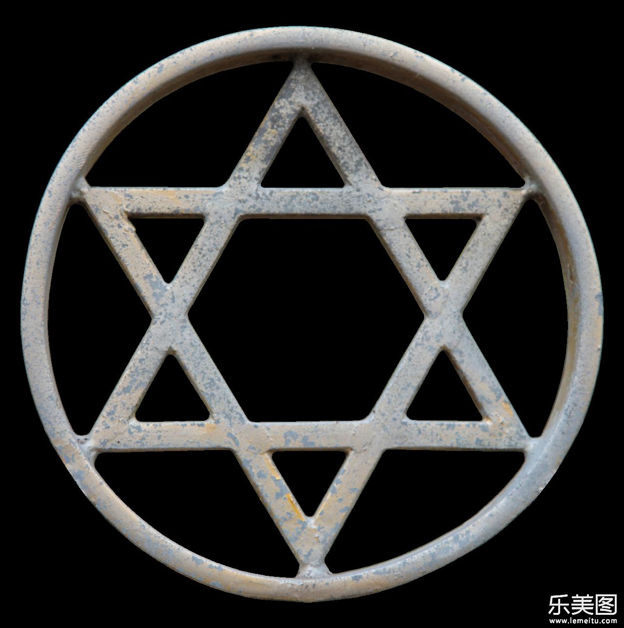 star of david,又称六芒星,大卫之星,大卫星,等,又或者直接称为六角星