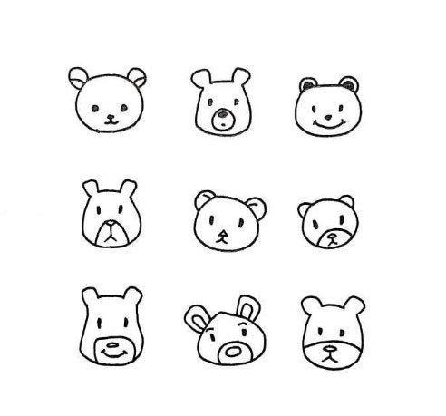 动物简笔画图片
