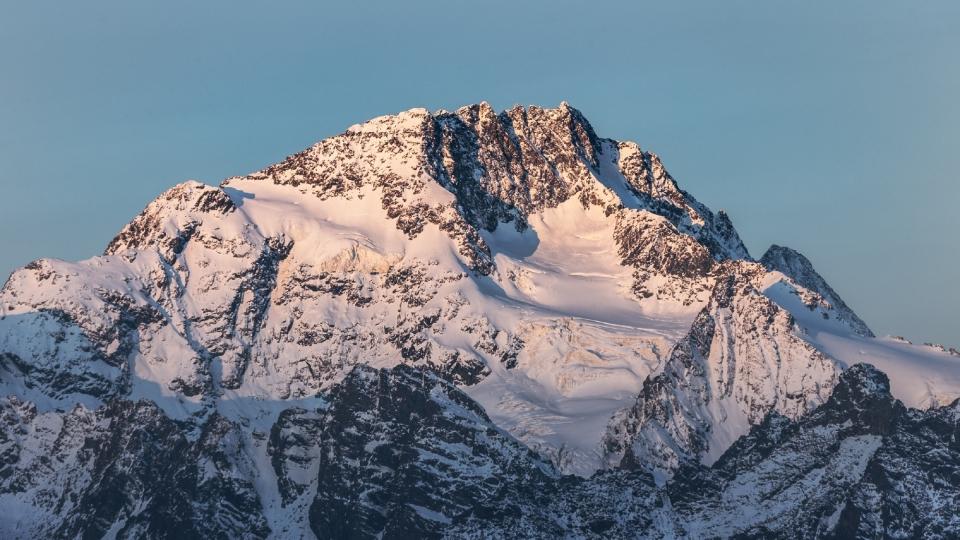 雪山风景自然风光优美夏日高清壁纸