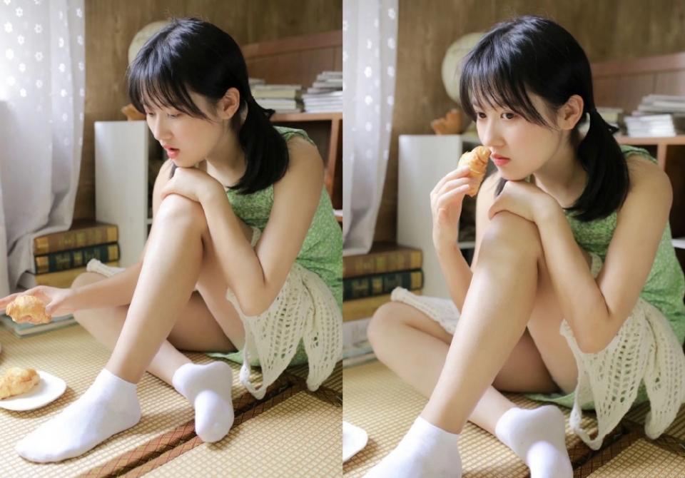 清纯美女学生妹妩媚诱惑性感写真